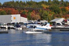 乔治湾空中航线水上飞机 库存图片