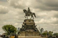 乔治纪念碑华盛顿 免版税库存照片