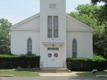 """乔治路施洗约翰教堂入口在北部布朗斯维克, NJ,美国 Ð """" 免版税库存照片"""
