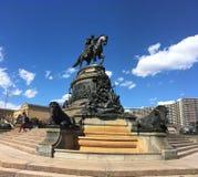 乔治雕象华盛顿 免版税库存照片