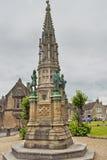 乔治Digby Wingfield Digby纪念品, Sherborne修道院,多西特,英国,英国 免版税库存照片