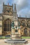 乔治Digby Wingfield Digby纪念品, Sherborne修道院,多西特,英国,英国 图库摄影