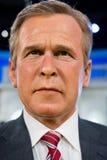 乔治H W 布什在杜莎夫人蜡象馆的蜡象 库存图片