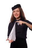 乘务员 免版税图库摄影