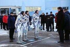 乘员组发行报表 免版税库存图片