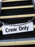 乘员组符号 免版税库存照片