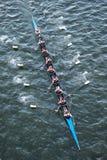 乘员组队在竞争中 库存照片