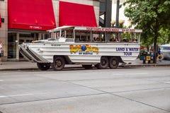 乘坐鸭子西雅图 免版税图库摄影