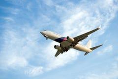 乘客飞机 免版税图库摄影