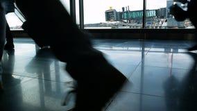 乘客机场人 股票视频