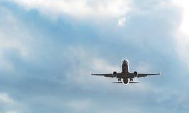 乘客飞机 库存照片