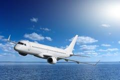 画乘客s的飞机子项 免版税库存图片