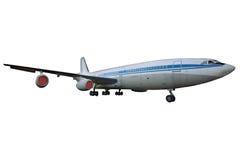 画乘客s的飞机子项 库存照片