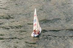 乘快艇在丰沙尔,马德拉岛海岛,葡萄牙 库存图片