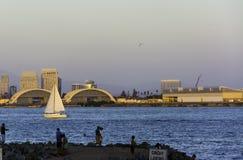 乘快艇在加利福尼亚 免版税库存照片