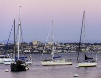 乘快艇在加利福尼亚 库存照片