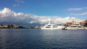 乘快艇在维多利亚 库存图片