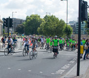 乘驾伦敦2014年 免版税库存照片