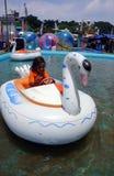 水乘驾 免版税库存图片