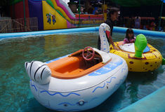水乘驾 图库摄影