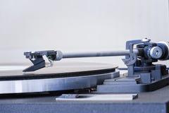 乙烯基唱片演奏者概念葡萄酒声音 免版税库存图片