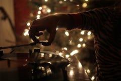 乙烯基圣诞节 免版税库存图片