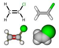 乙烯基氯 库存例证