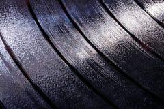 乙烯基LP音乐背景的纪录凹线我 免版税图库摄影