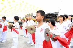 九个皇帝神节日 免版税库存图片