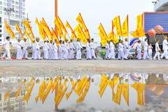 九个皇帝神节日 图库摄影