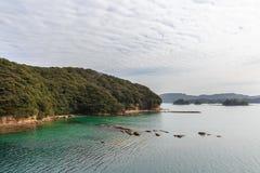 九十九海岛 库存照片
