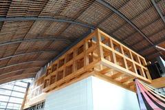 九州国家博物馆的大厅 免版税库存照片