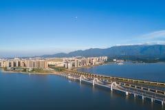 九江市风景 免版税图库摄影