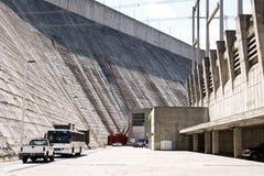 九里水坝 库存图片
