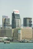 九龙地区在香港 免版税图库摄影