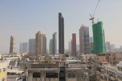 九龙市香港老镇  免版税库存照片