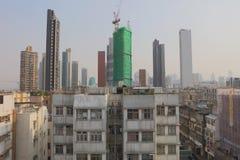 九龙市香港老镇  免版税库存图片