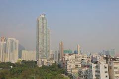 九龙市香港老镇  库存照片