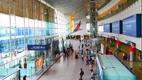 九龙机场明确驻地,香港 免版税库存图片
