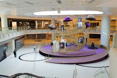 九龙购物中心内部 图库摄影