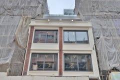 九龙mongkok的钳子lau老房子 免版税库存照片