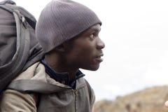 2014 02乞力马扎罗,坦桑尼亚:在山的Machame路线 4天 免版税库存照片