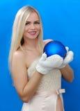 也作为收集玩偶已知的未婚俄国snegourochka雪 图库摄影