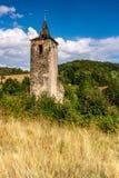 也作为酿酒厂基督教会已知的命名老安排波兰s那里耸立zywiec的城镇 免版税库存照片