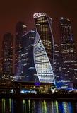 也指莫斯科莫斯科国际商业中心 库存照片