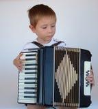 也是手风琴时间 免版税库存图片