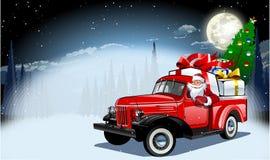 也看板卡圣诞节设想向量冬天 免版税库存照片