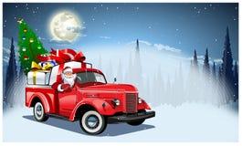 也看板卡圣诞节设想向量冬天 图库摄影