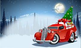 也看板卡圣诞节设想向量冬天 免版税图库摄影