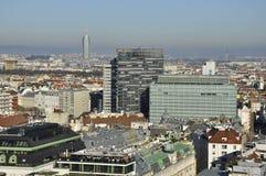 维也纳北部地平线 库存图片